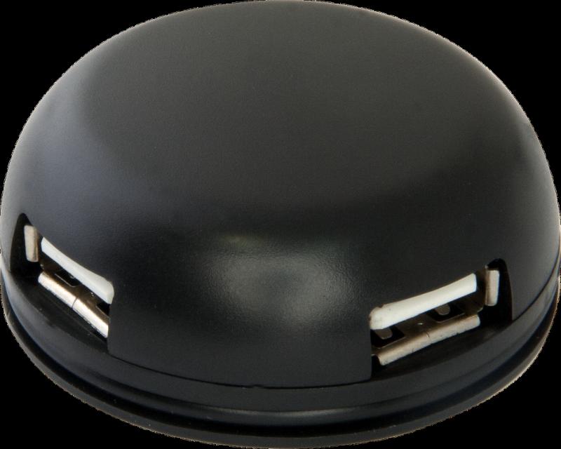 (83201)Универсальный USB разветвитель Quadro Light USB 2.0, 4 порта